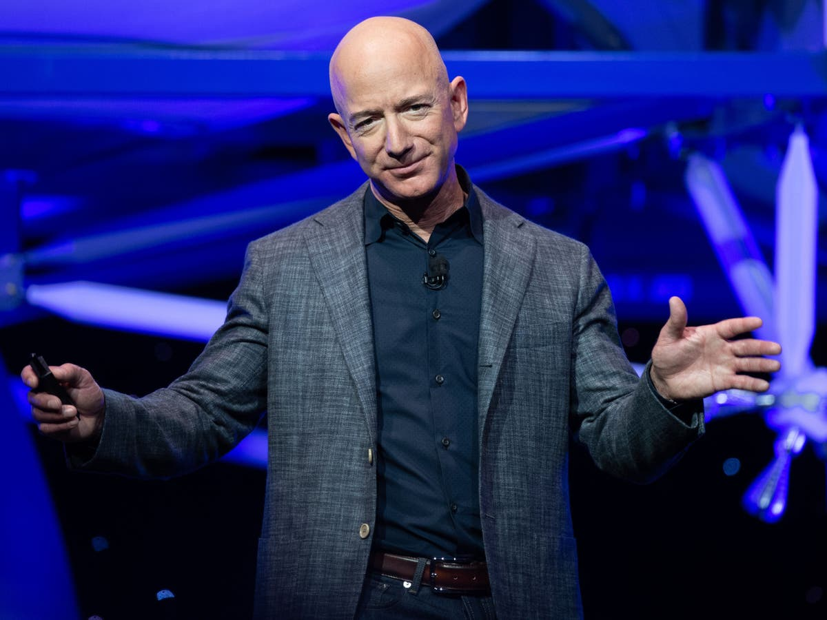 How much did Jeff Bezos earn during his 11-minute trip to space?