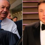 How much money Carlos Slim has compared to Elon Musk, the second richest man in the world