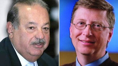 In which year Carlos Slim became the richest person in the world, ousting Bill Gates