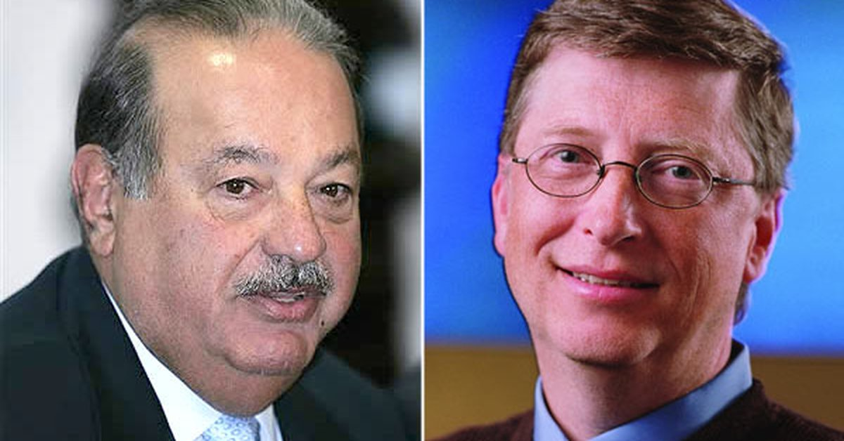 In which year Carlos Slim became the richest person in