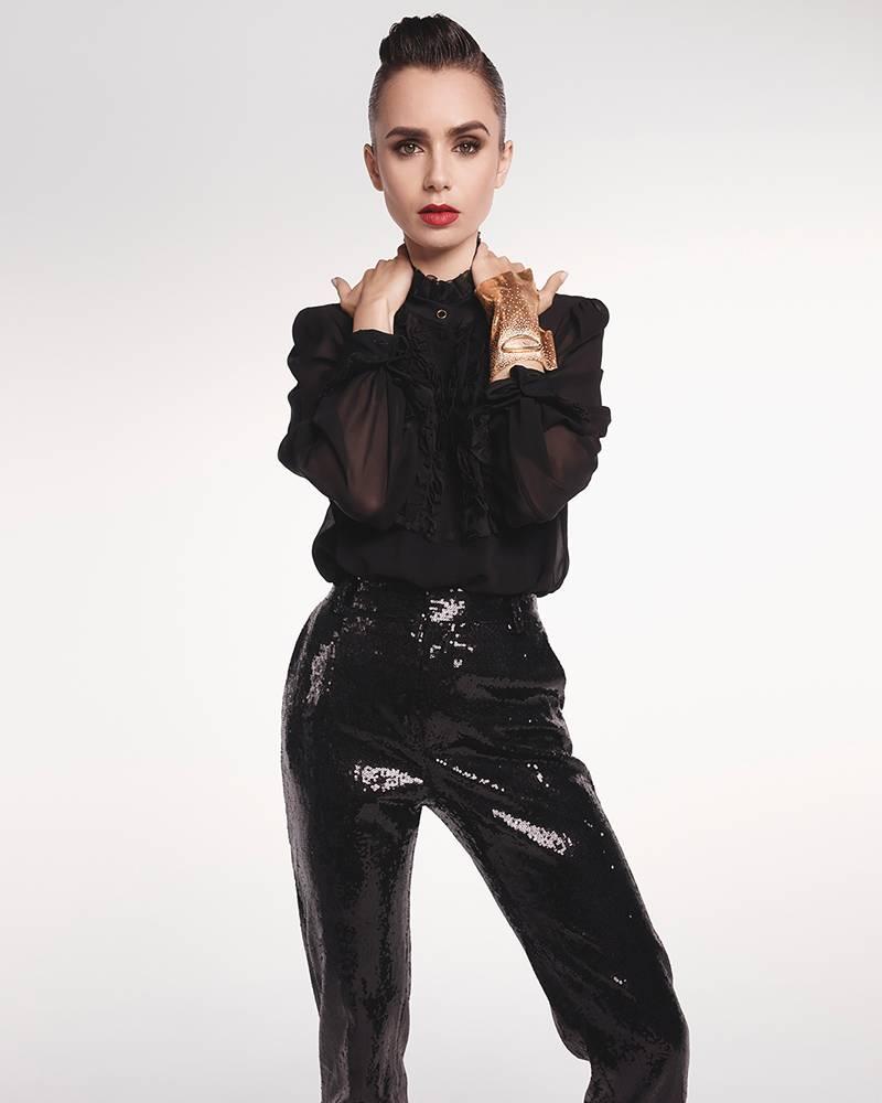 Interview les confidences de Lily Collins star dEmily in