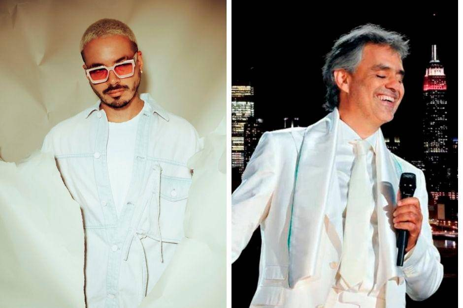 J Balvin and Andrea Bocelli two virtual concerts for this