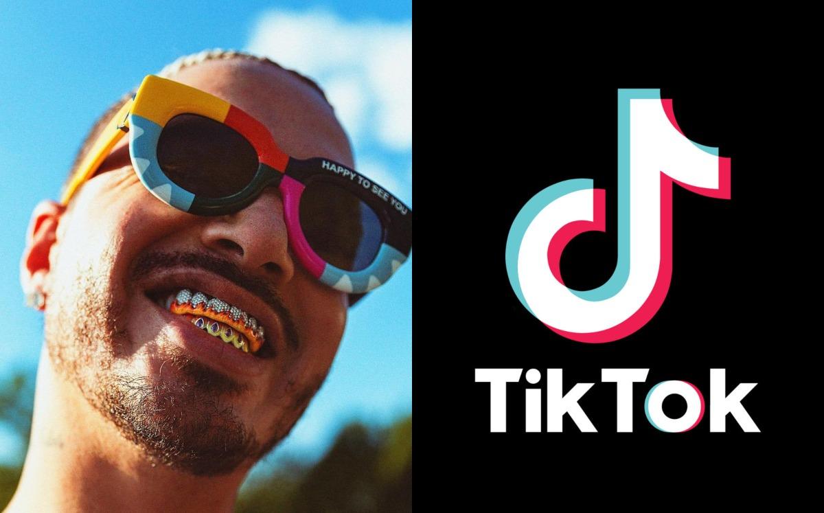 J Balvin will offer a concert at Tik Tok