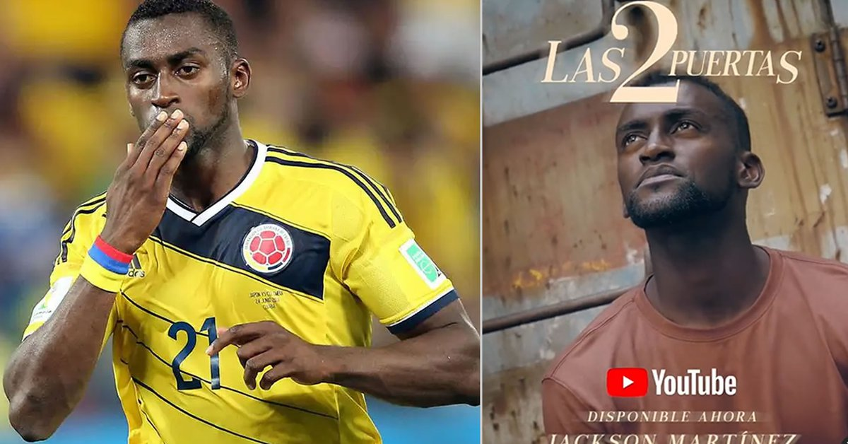 Jackson Martinez the footballer who became a Christian singer released