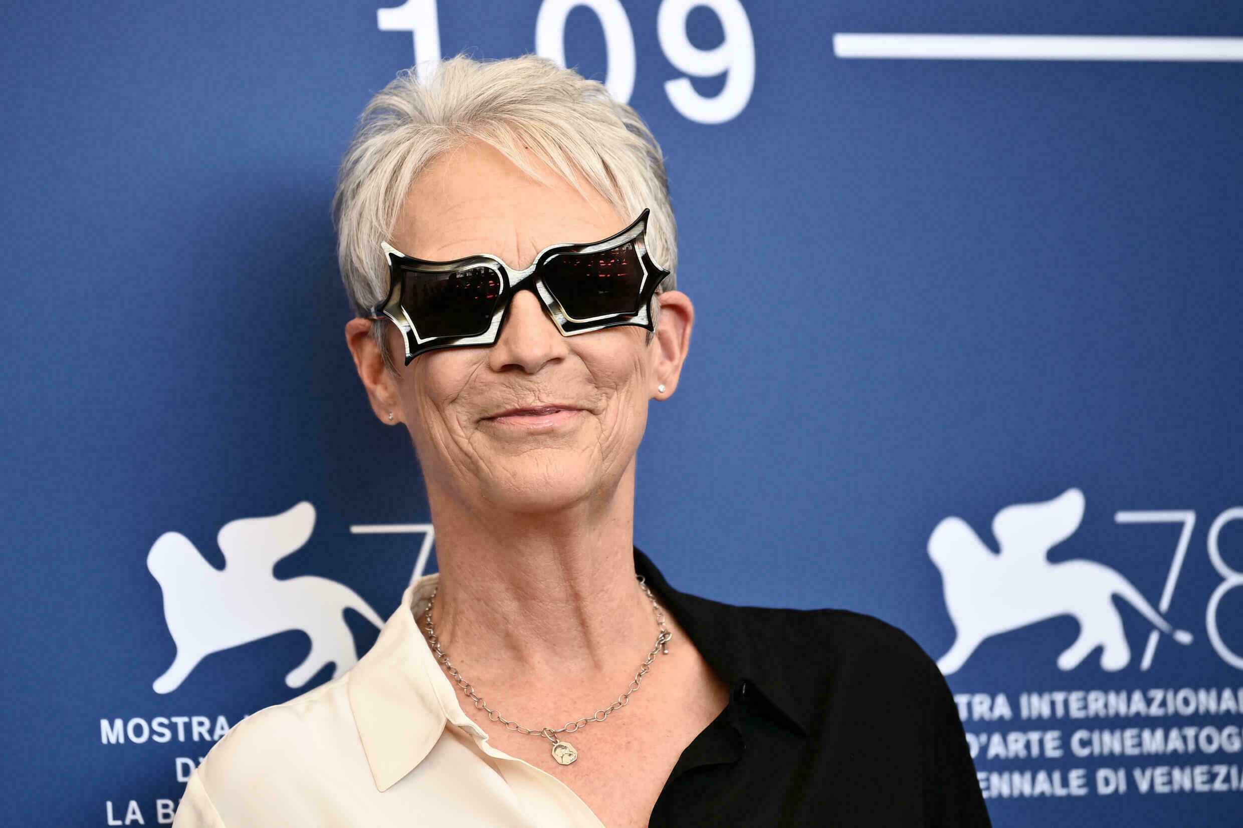 Jamie Lee Curtis in Venice for the Mostra, September 8, 2021