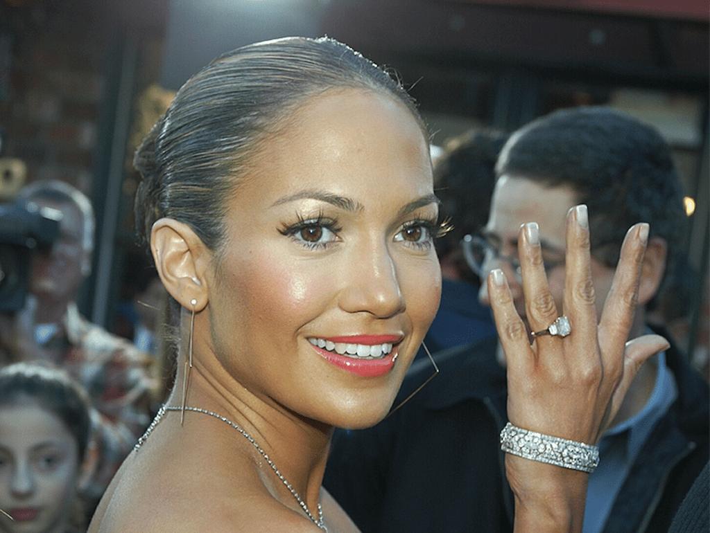 Jennifer Lopez Pink Diamond Engagement Ring with Ben Affleck Valued