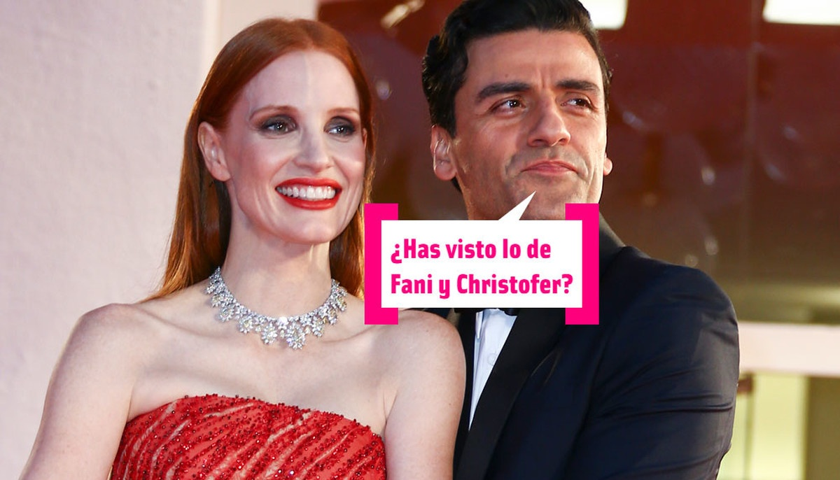 Jessica Chastain, Oscar Isaac, the kiss (sobaquero) of Venice and ... The data that escaped us