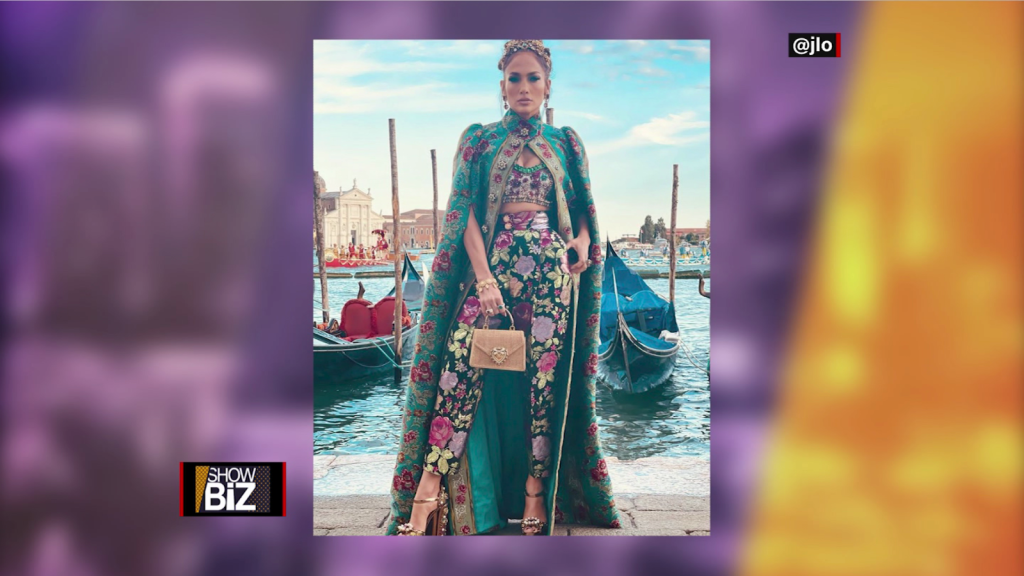 JLo makes Venice fall in love with Dolce & Gabbana style