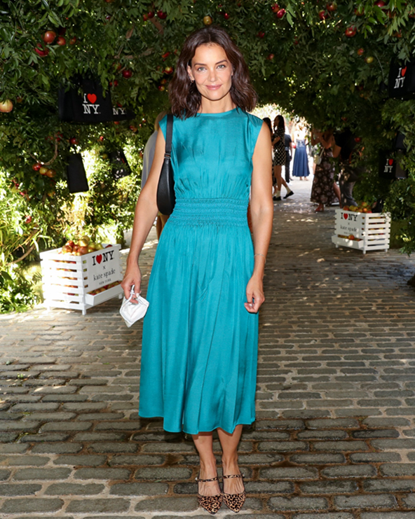 Katie Holmes at the Kate Spade event