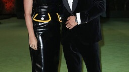 Katy Perry looks stylish in a leather dress as she gets closer to Orlando Bloom at the Oscars museum - photos e! News uk