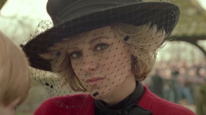 Kristen Stewart unrecognizable in Lady Di the first images of
