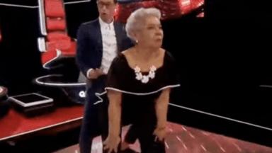 La Voz Senior: Tony Succar danced La Gasolina with a 70-year-old contestant