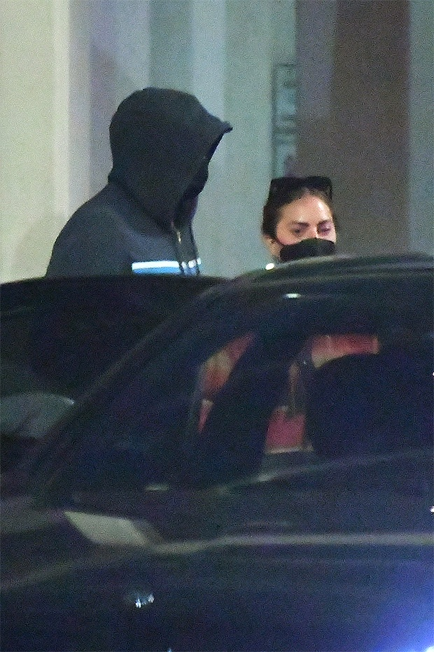 Lady Gaga makes rare public outing with BF Michael Polansky as they land at LAX - photos E! News UK