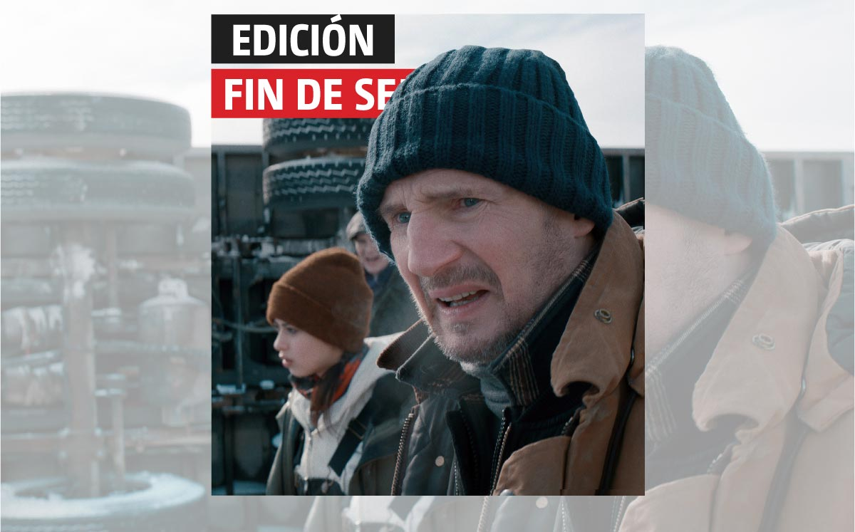 Liam Neeson surprises again at Low Risk Zero