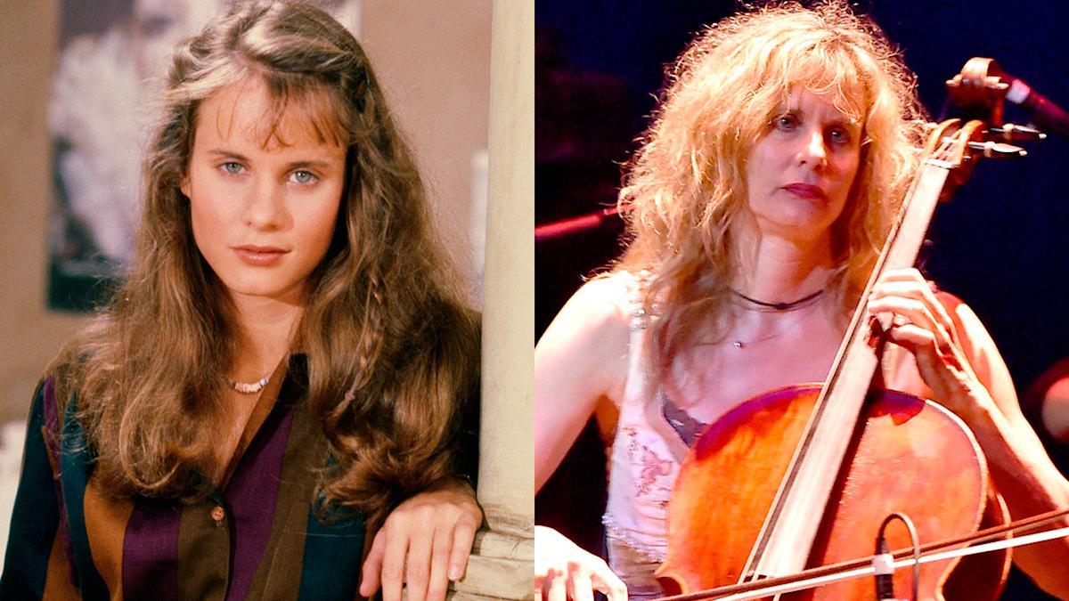 Lori Singer the star of Footloose and Fame kept afloat