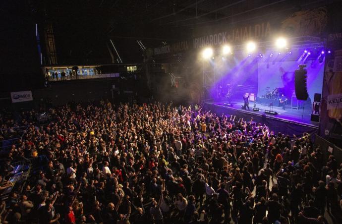Los conciertos con publico de pie regresan a Navarra