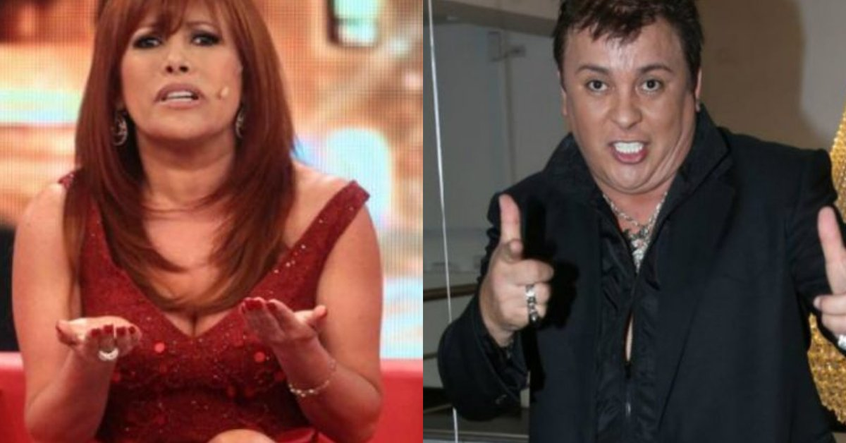 """Magaly Medina criticizes Richard Swing for bringing bottles of water to SJL: """"This huachafada is the most terrible"""""""