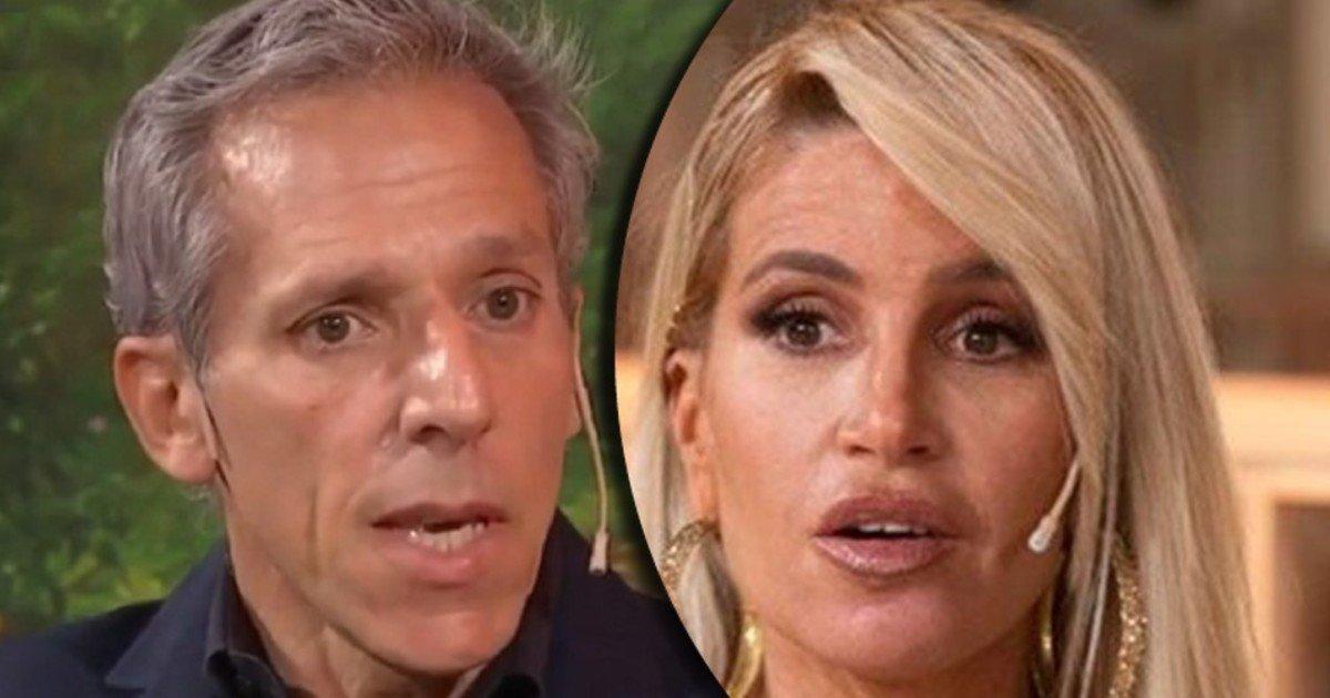Marcelo Mazzarello denounced that Florencia Pena had him cast out
