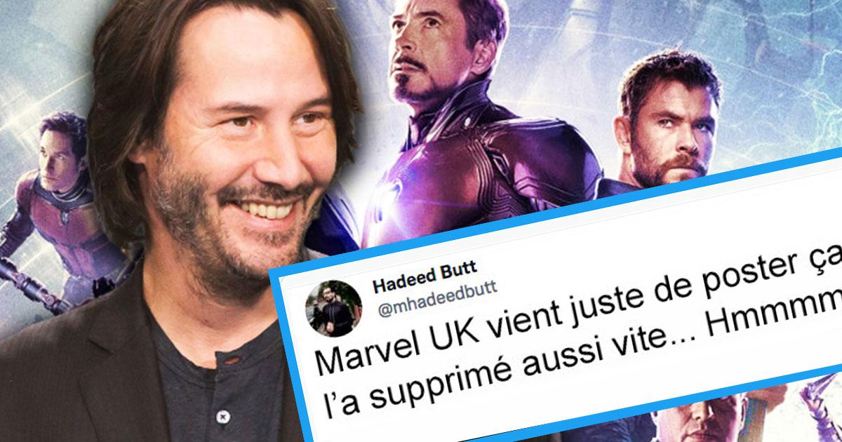 Marvel tweet revives idea Keanu Reeves will join MCU soon