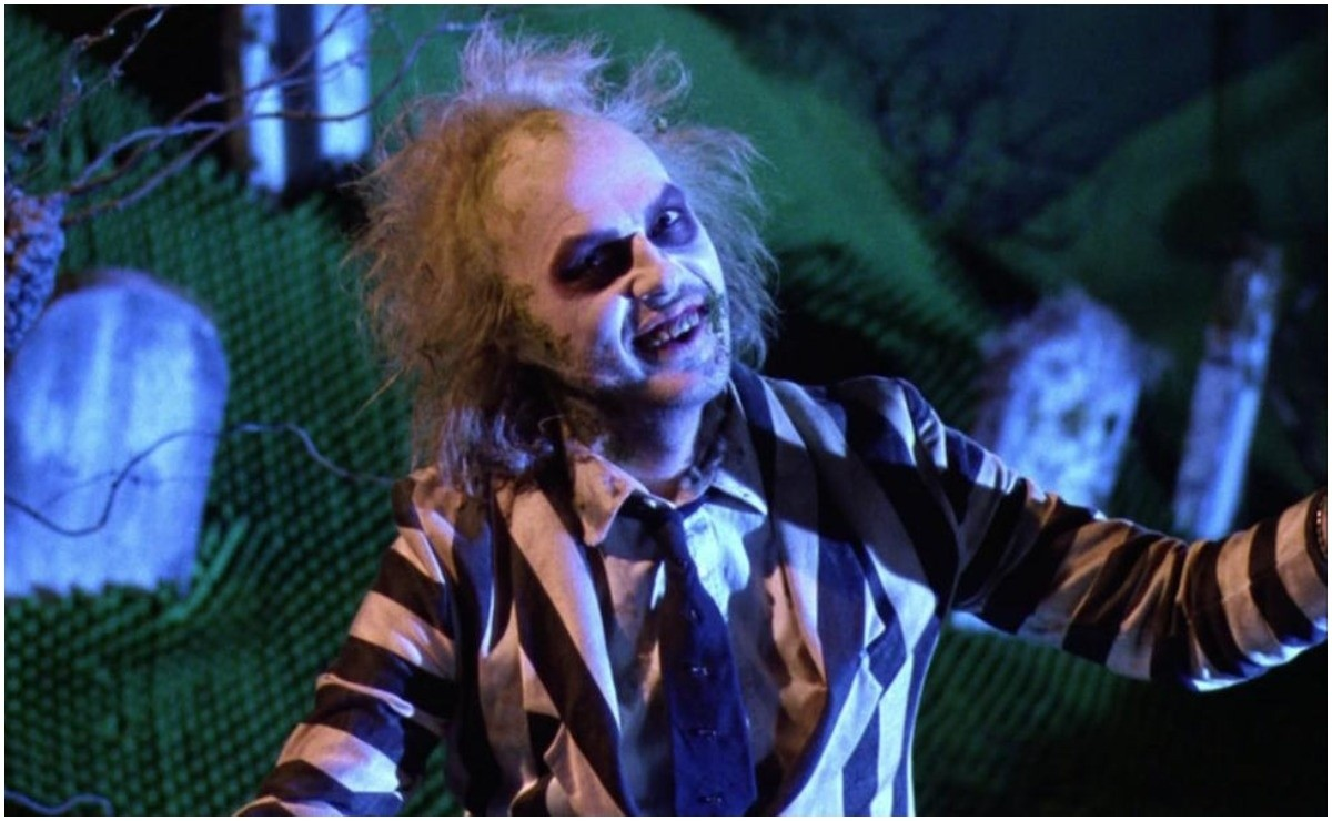 Michael Keaton reveals to be the creator of his appearance in Beetlejuice