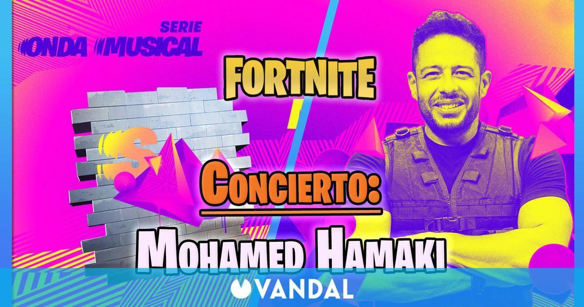 Musical wave in Fortnite Mohamed Hamaki concert Dates times