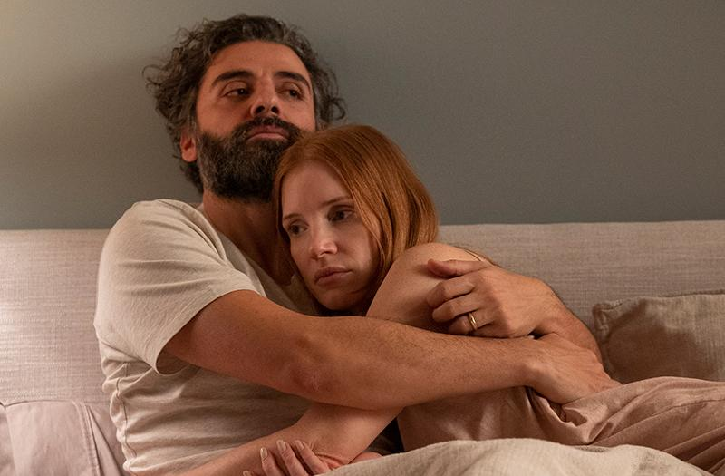 Oscar Isaac and Jessica Chastain in & # 39; Secrets of a marriage & # 39; (cuts & # xed; a from HBO)