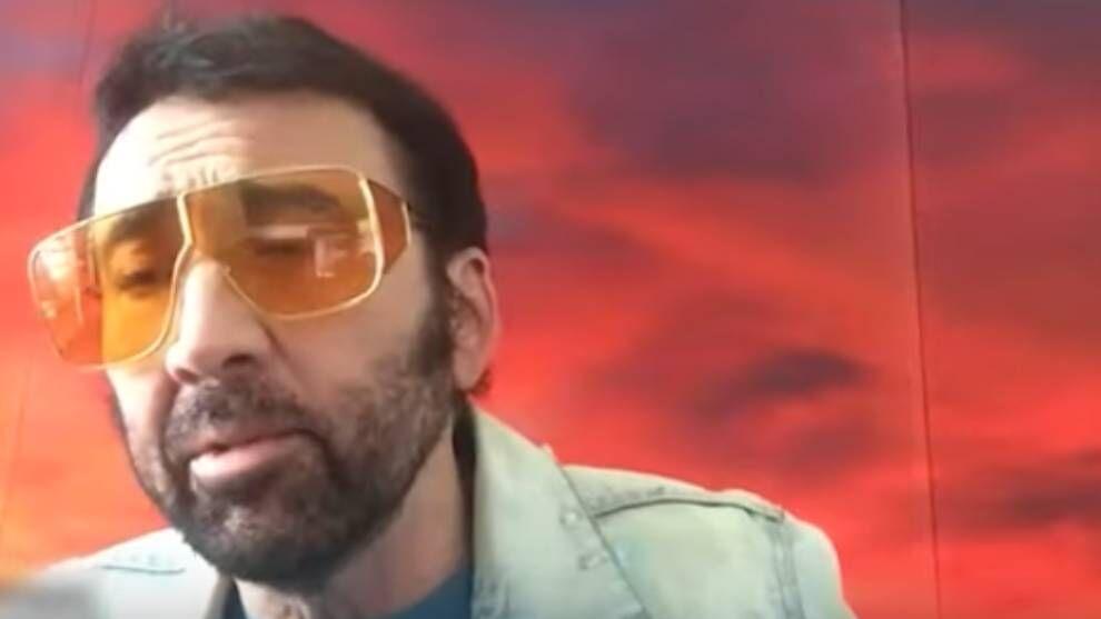 Nicolas Cage promete que no vera su proxima pelicula Es