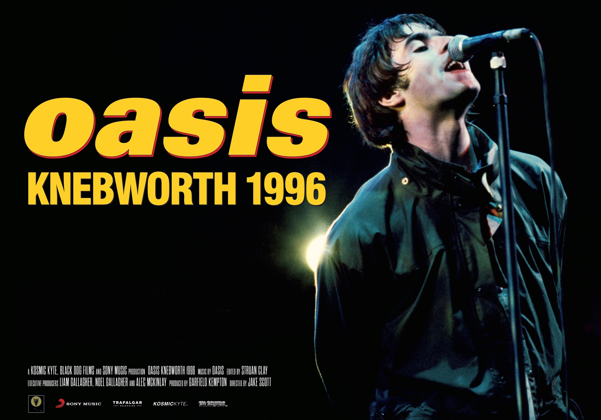 Oasis premieres concert documentary at Knebworth!