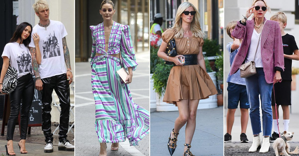 Olivia Palermo attended an event Naomi Watts went out to