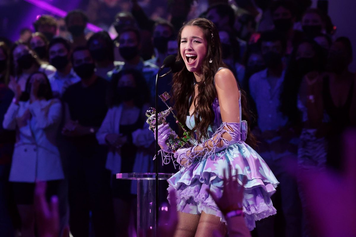 Olivia Rodrigo BTS Justin Bieber Billie Eilish and Rosalia awarded