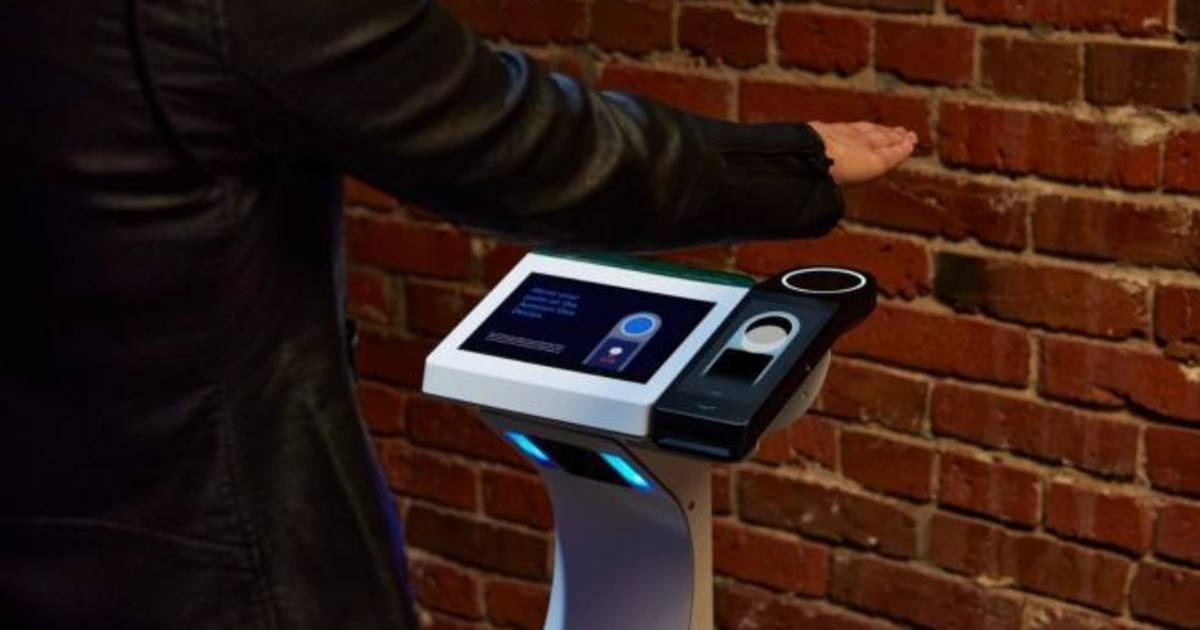 Palm-of-hand identification system reaches stadiums and concert halls