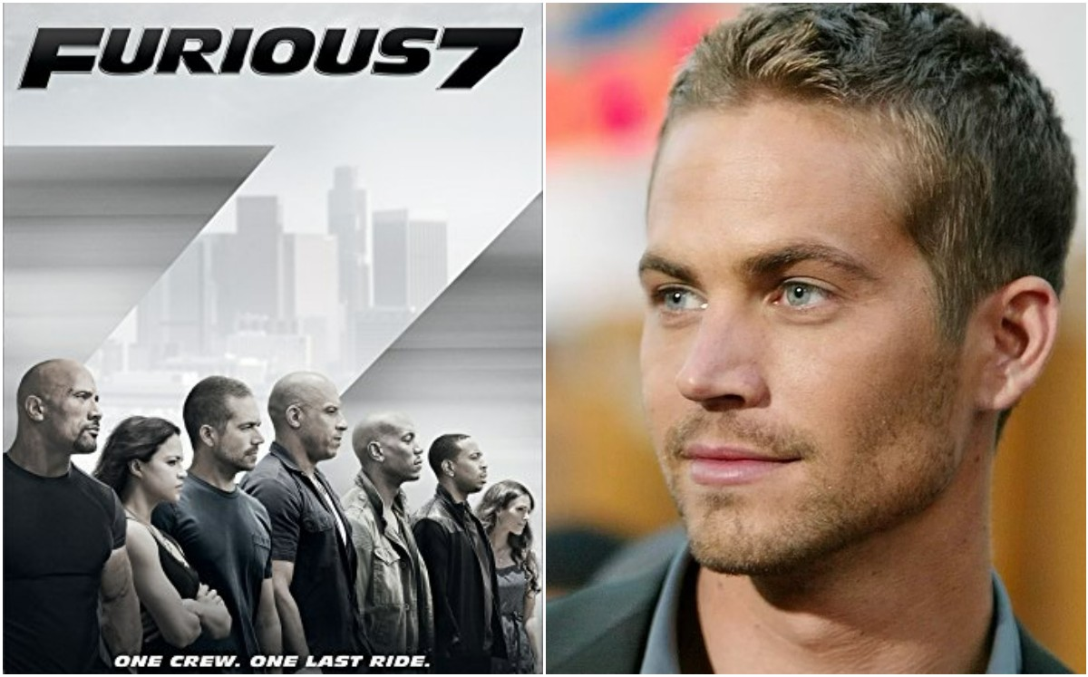 Paul Walker. So they finished recording Fast and Furious 7   VIDEO