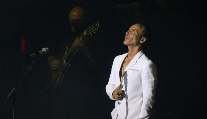 Pitingo praises Rafael Farina before his concert in Salamanca He
