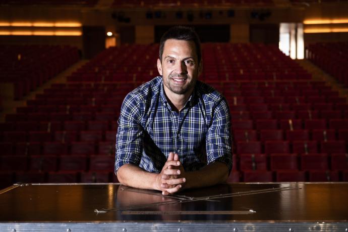 """Ramn Urdiin: """"Nuestra idea es romper la barrera de los grandes conciertos con el circuito de Los Arcos"""""""
