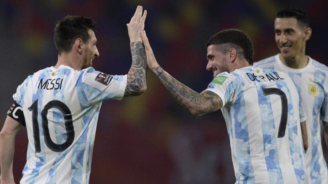 Rating Argentinas game the most watched of the day