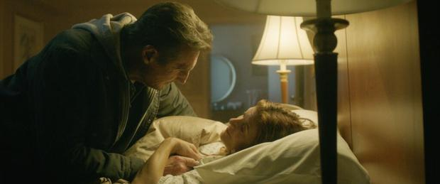 """Liam Neeson and Kate Walsh in """"Relentless revenge""""."""