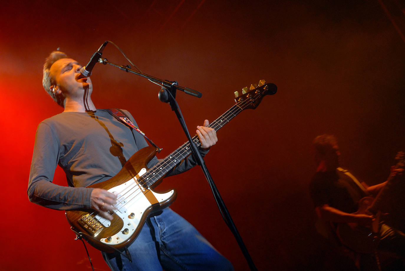 Hombres G, in a concert in Logroño.