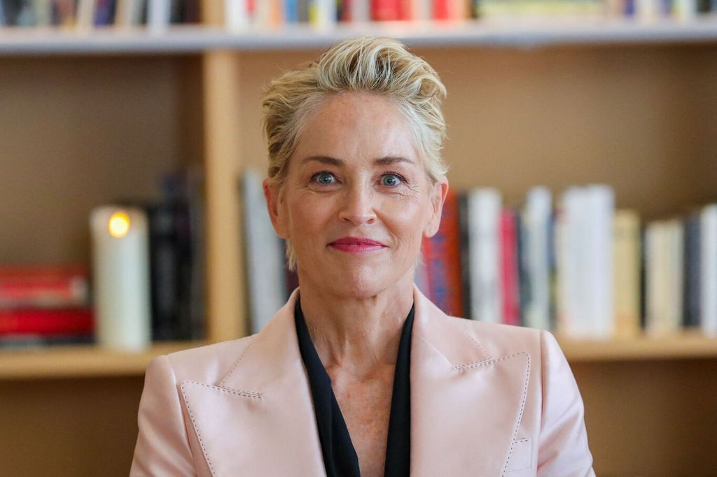 Sharon Stone in mourning she says more about her mental
