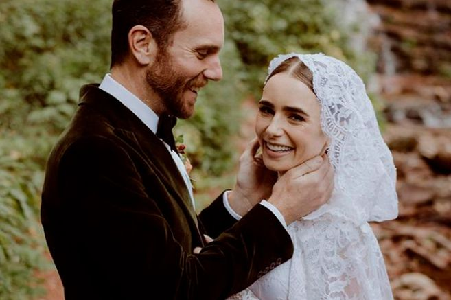 So were the weddings of Lily Collins Andrea Tovar and
