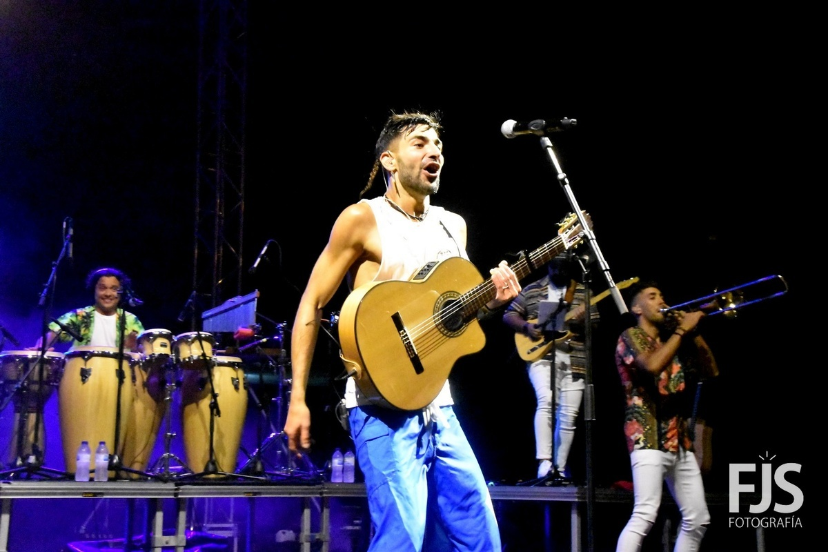 Telde closes the summer with the first massive open air concert