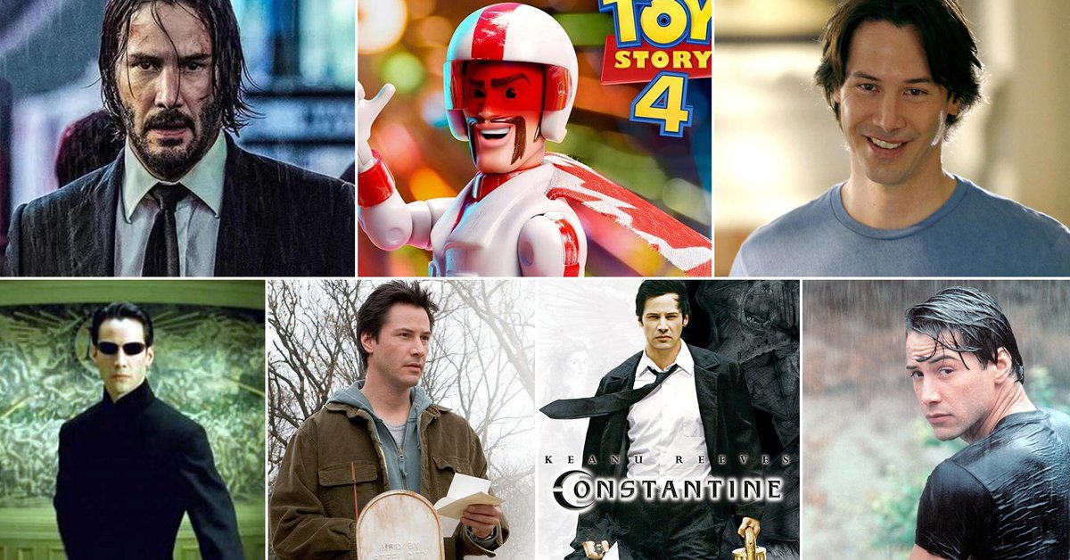 The 7 movies that have made Keanu Reeves the actor
