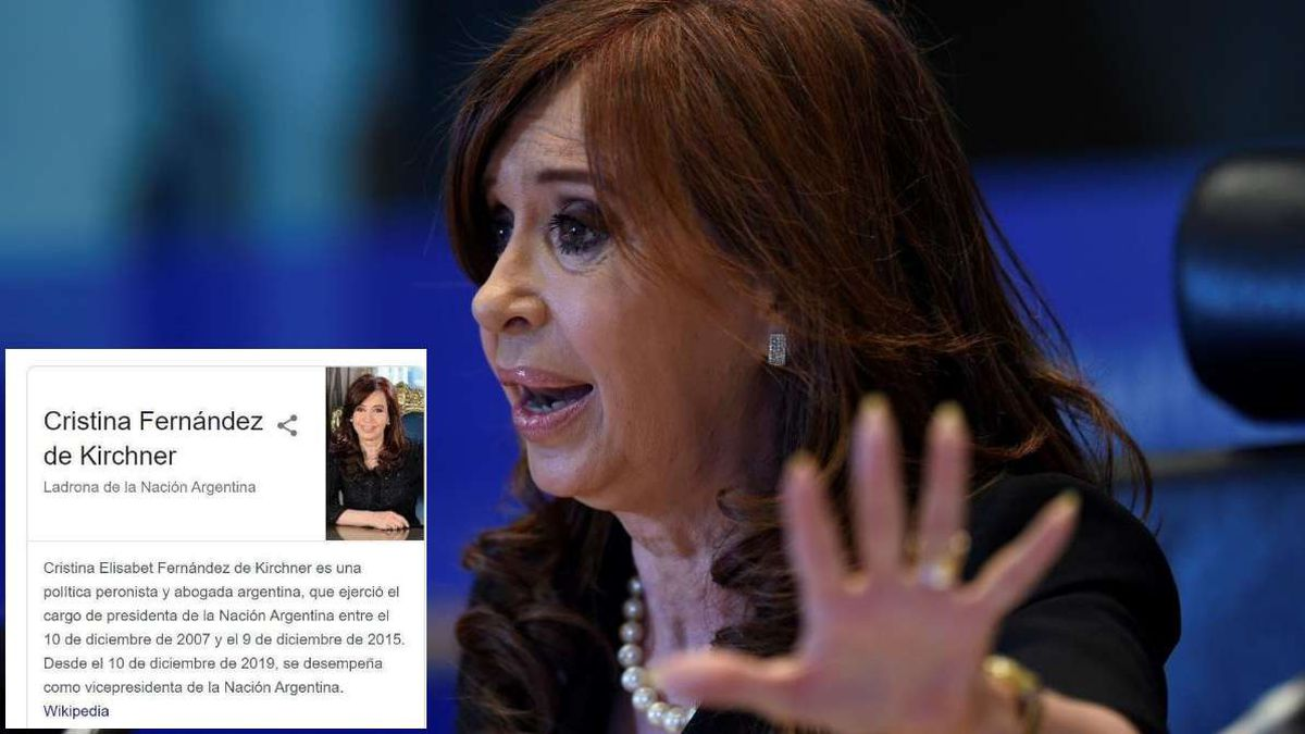 Thief of the Argentine Nation Googles explanation of the offending
