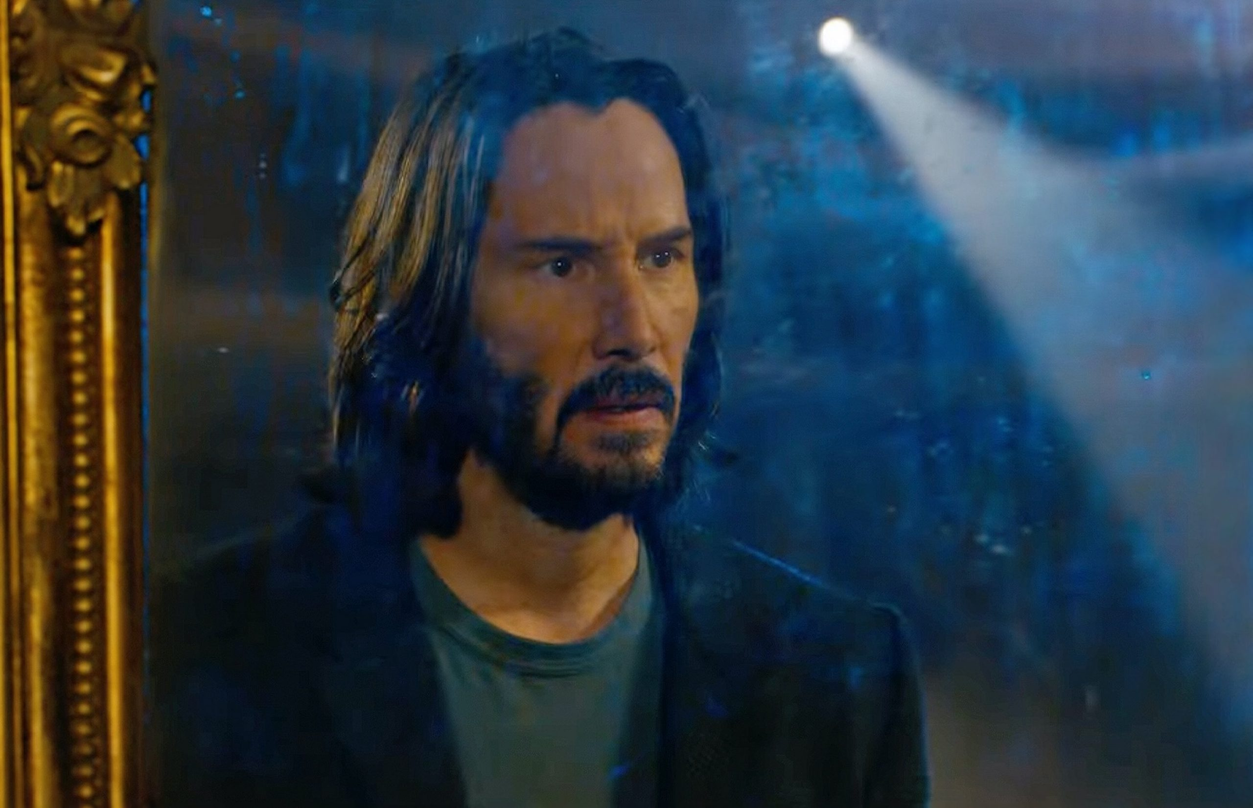 This is how Keanu Reeves reacted to the final footage