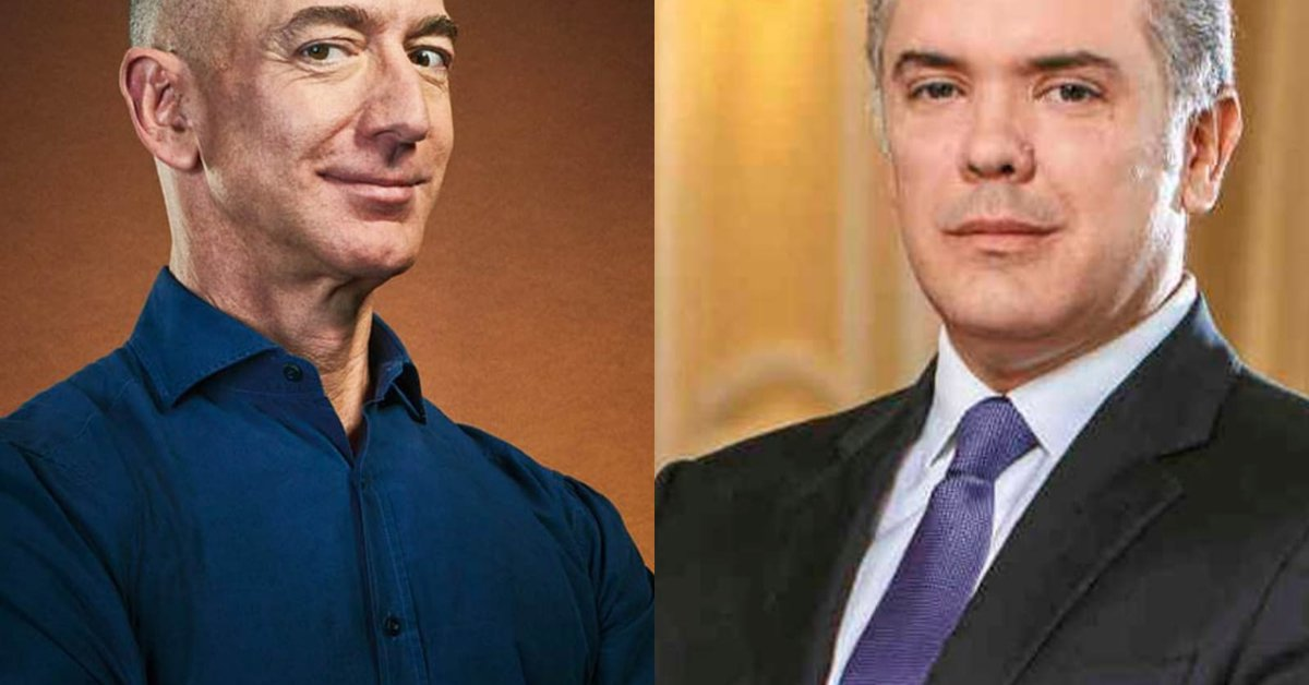 This was the meeting between Iván Duque and Jeff Bezos and the millionaire donation of the Amazon owner to Colombia