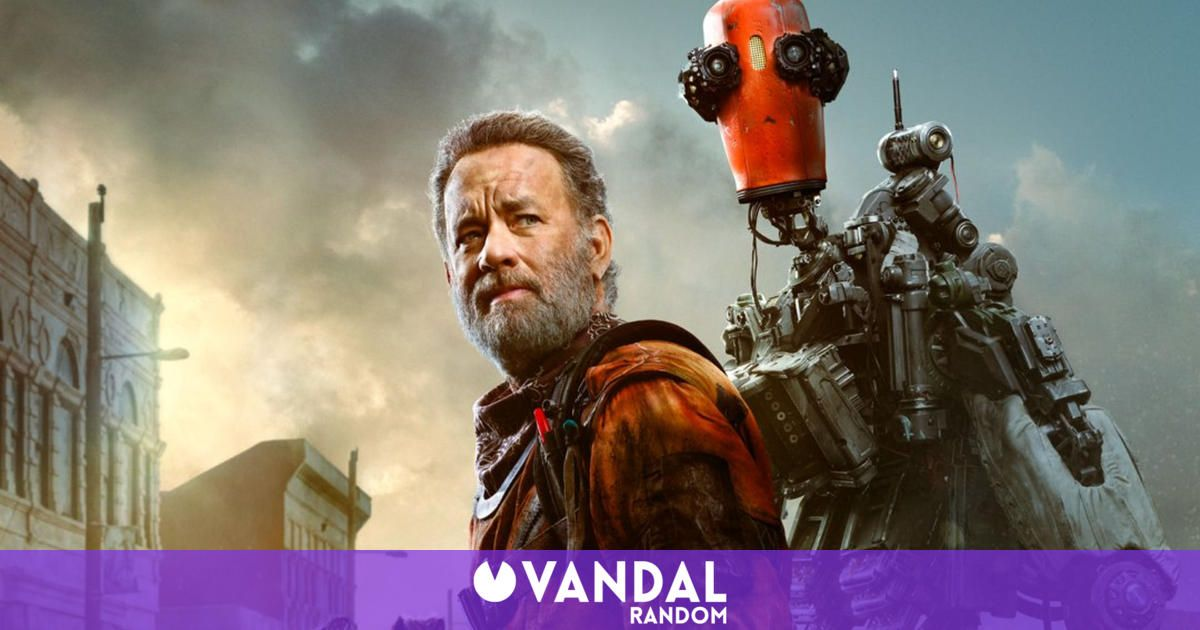 Tom Hanks' new 'Finch' releases its first poster and is compared to 'Chappie'