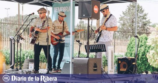 Very local concerts that overlap to avoid a large influx of public .- Diario de la Ribera