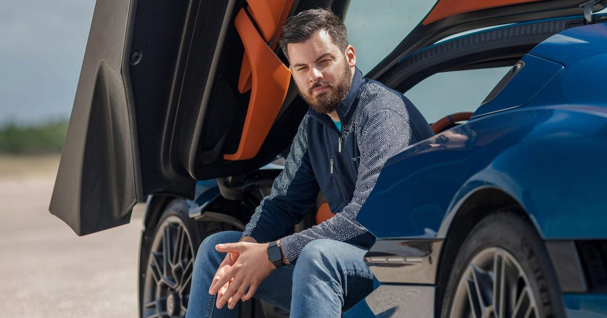 Who is Mate Rimac and why he can be compared
