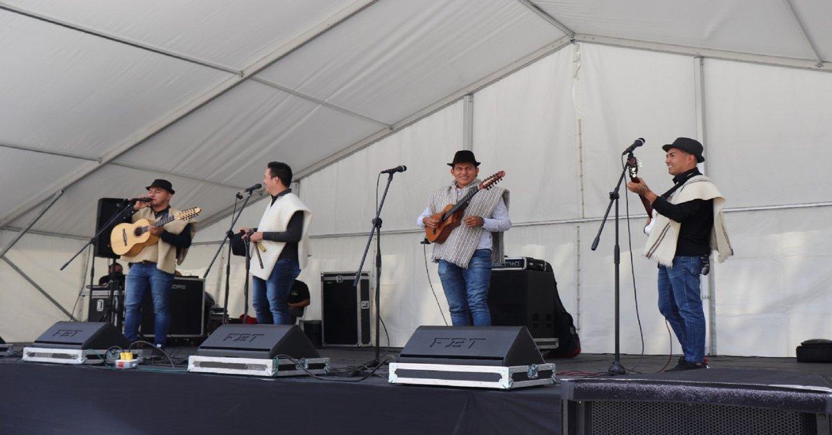 With eleven musical groups from Cundinamarca, Boyacá and Santander, Tenjo will present the XIII Festival de la Ruana y la Música