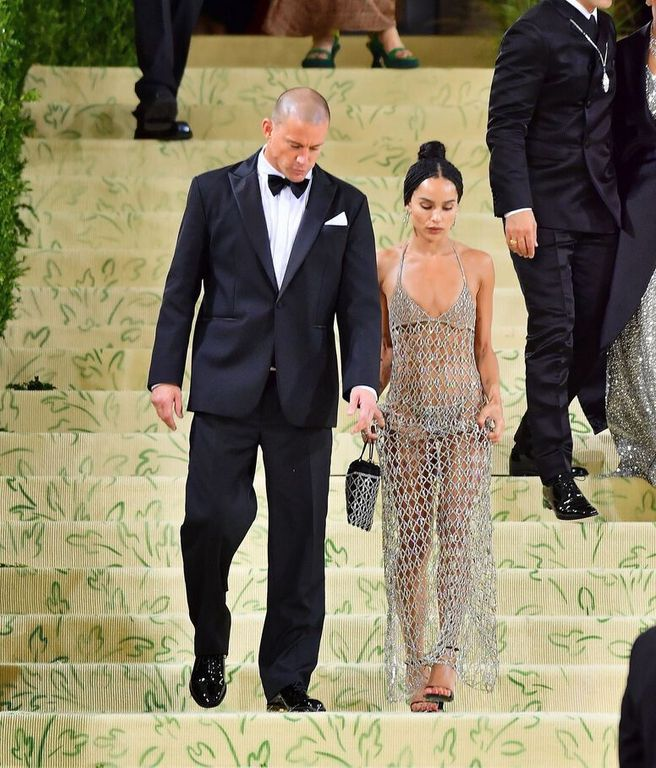 Zoë Kravitz in a transparent dress at the Met Gala: very criticized, she pays her detractors