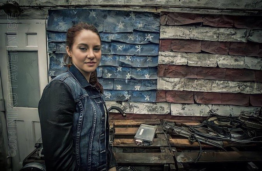 plex Images of Shailene Woodley as Mary Jane Watson